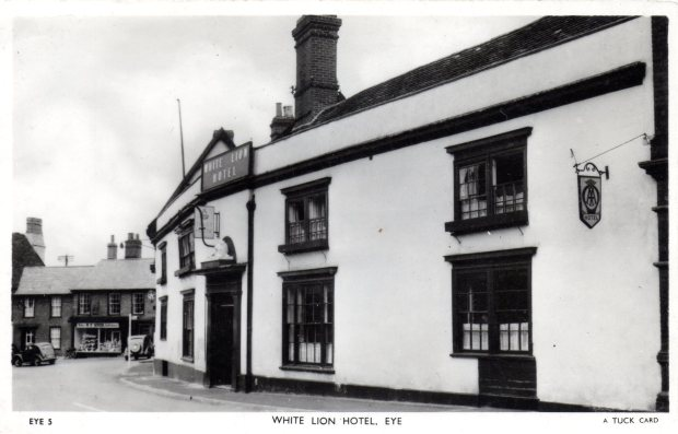 WHITE LION HOTEL, EYE