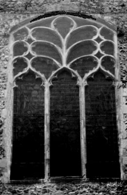 EAST WINDOW OF SPIXWORTH CHURCH