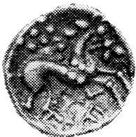 Horse on an Iceni coin