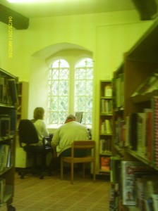 The library on the ground floor of the Magdalen College Museum is under threat.