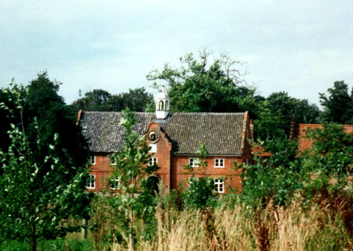 The stables, all that remains of Spixworth Hall