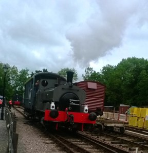 Whitwell steam railway