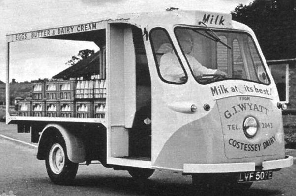 COSTEESEY MILK FLOAT
