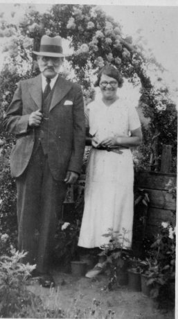 CHARLES MASON and his daughter MILLICENT in his allotment.