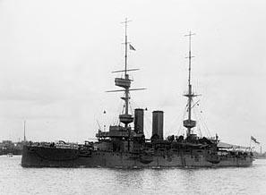 HMS BULWARK, laid down 1899