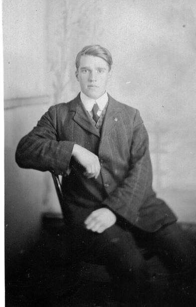 Arthur Rutter young man