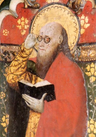St Matthew from Cawston rood screen