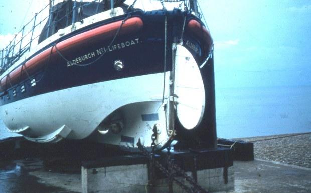 Aldeburgh lifeboat, 1958.