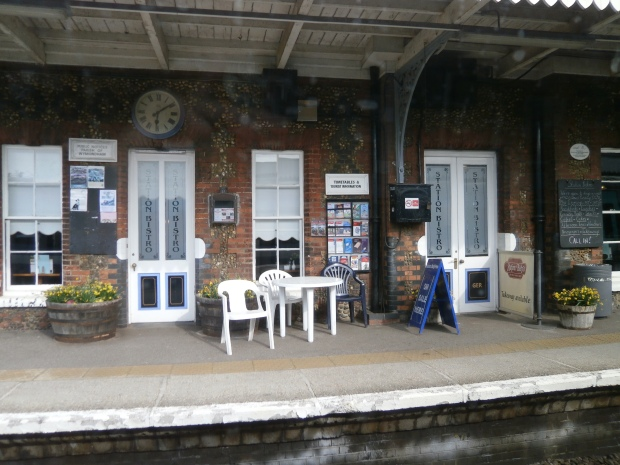 Wymondham station as it is today