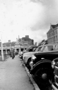St Ann's Terrace Barnstaple.157 style cars!