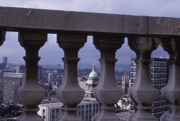 London viewed from the Dome of St Paul's, 970.