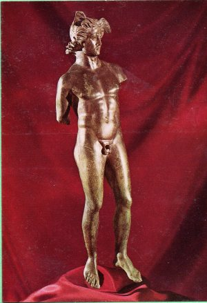 Figure of Mercury, found in Colchester.
