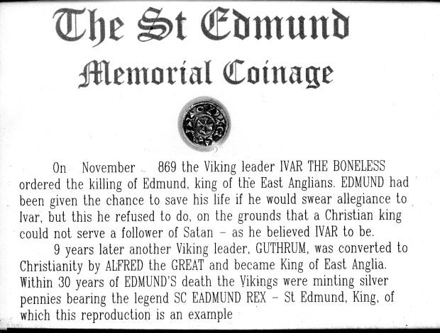 St Ed Mem coin