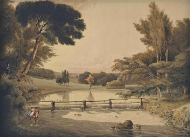 Costessey Park by John Thirtle, 1814