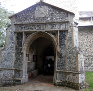 SWANNINGTON CHURCH PORCH